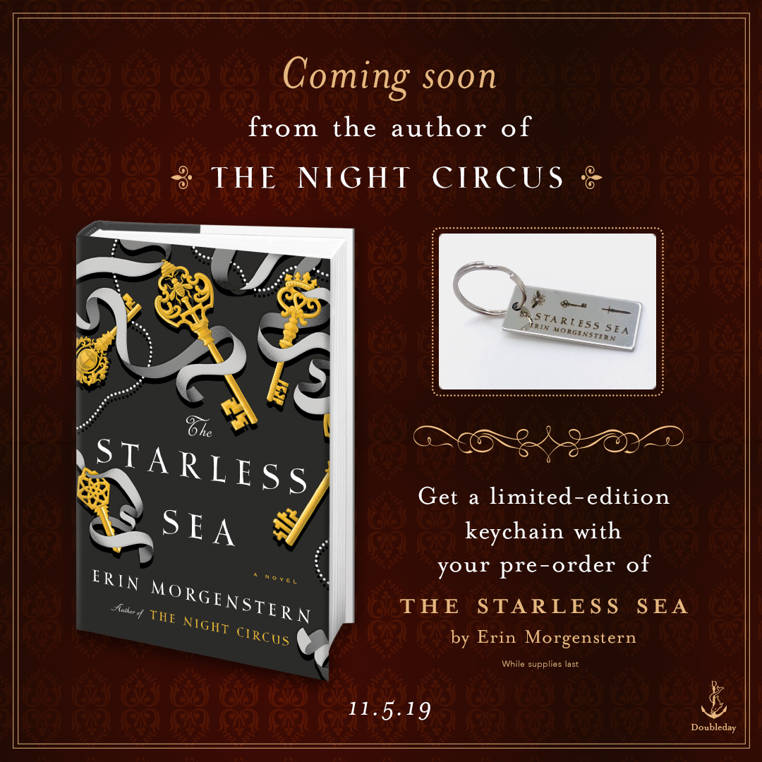 Preorder The Starless Sea by Erin Morgenstern