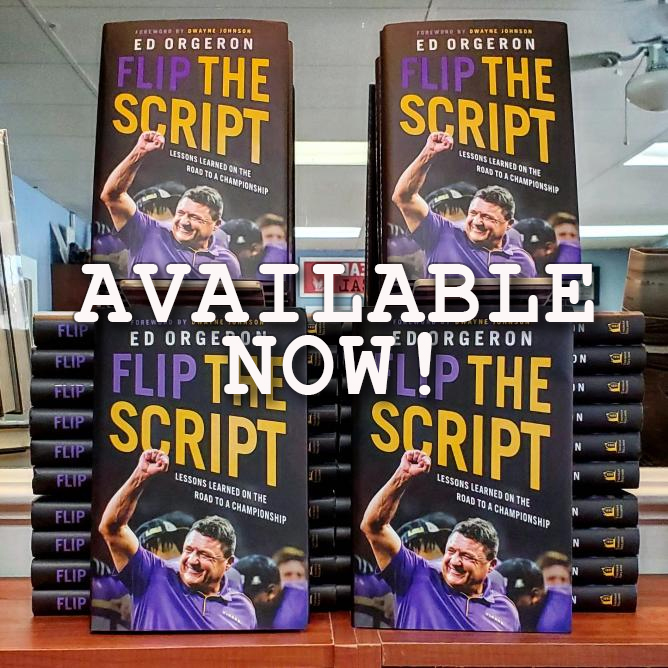 New book by Coach O Available Now!
