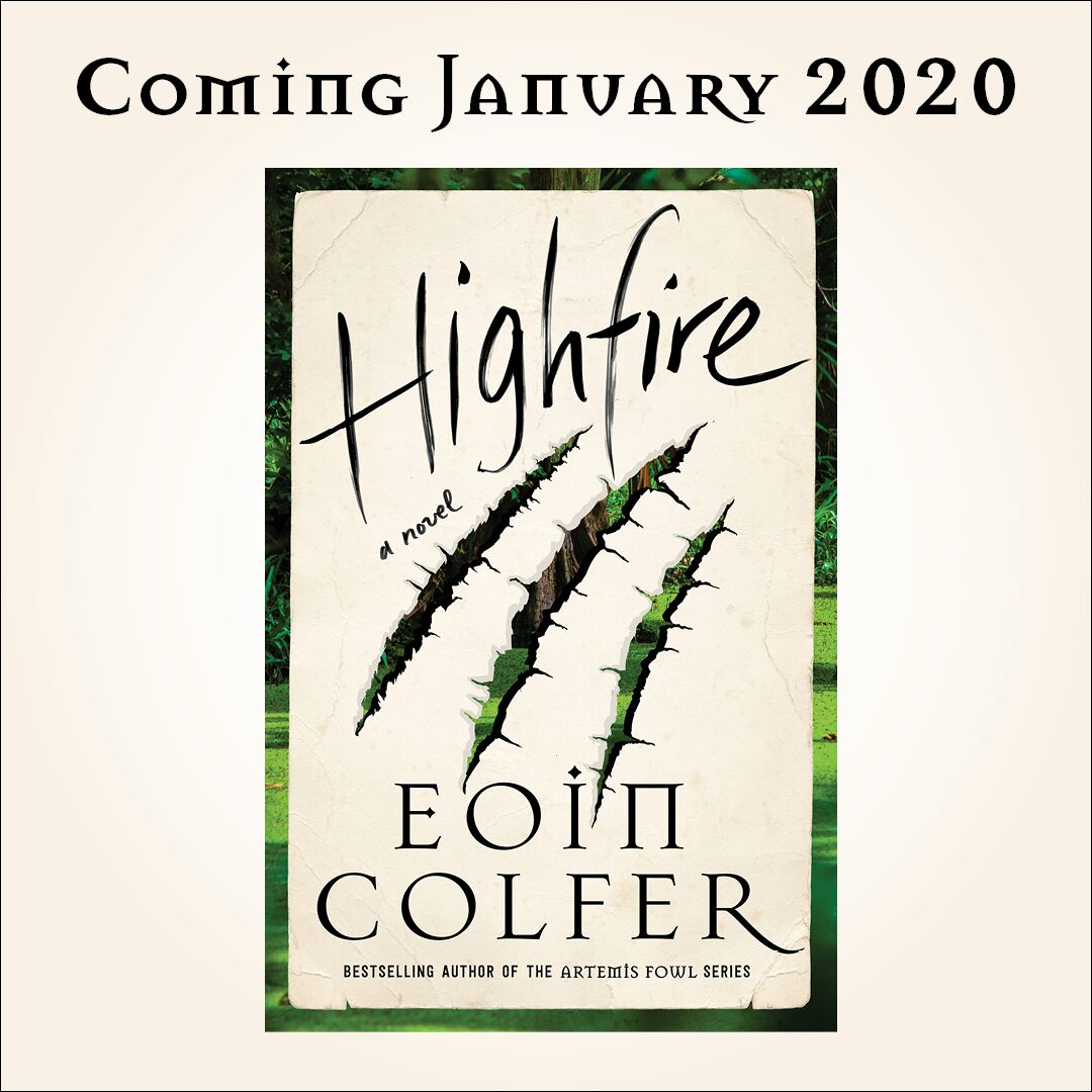 Preorder Highfire by Eoin Colfer