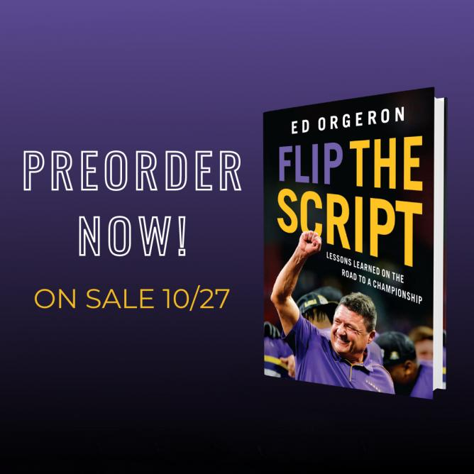 Preorder New book by Coach O!